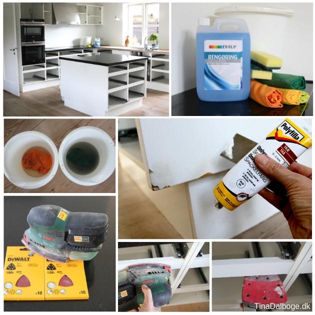 køkkenrenovering fra hvidt til trækøkken